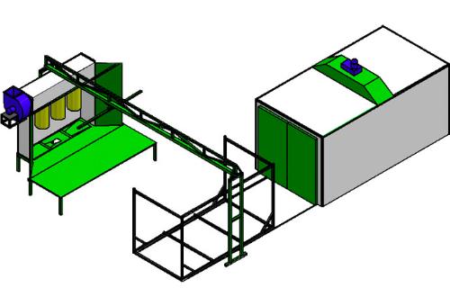 Печь полимеризации (камера)